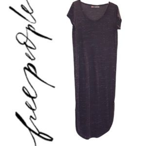 Free People FP Beach Eggplant Maxi Dress XS